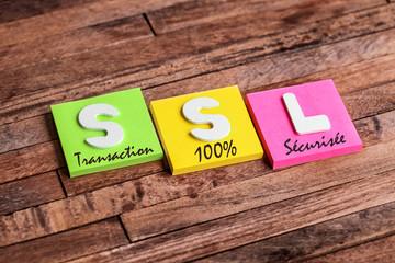 trousseau de clés : SSL transaction 100% sécurisée