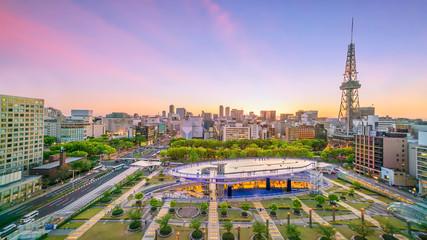 Foto op Plexiglas Asia land Nagoya downtown skyline in Japan