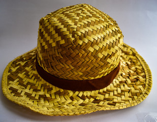 Hat made of rattan