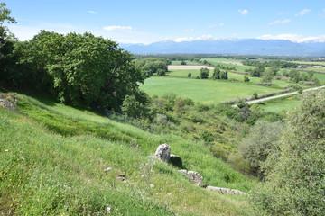 Plaine d'Aléria en Corse