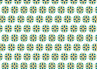 beautiful vector background, for greeting card, banner, business card, holiday or decoration. geometric abstract ornament in the form of flowers