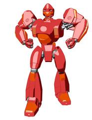 Anime style giant robot