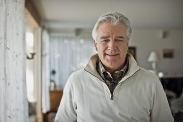 Portrait of a smiling mature man.