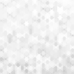 Abstract geometric background design with grey & white tones.