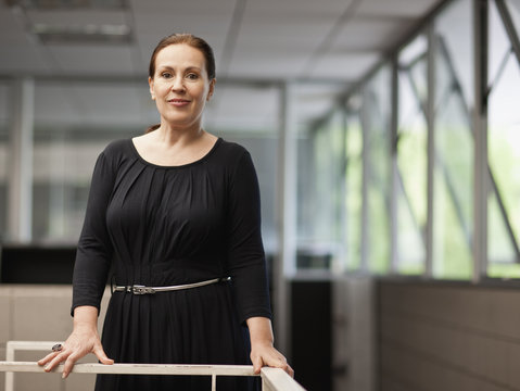 Portrait of a female architect.