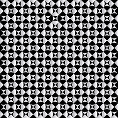 Black and white simple geometric pattern wallpaper background.