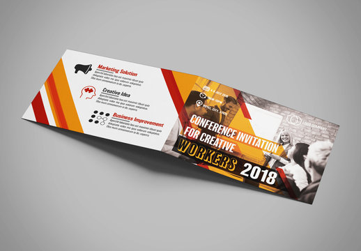 Conference Invitation Layout