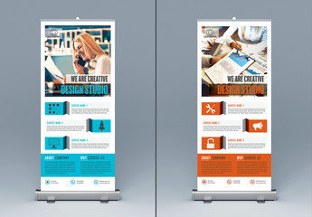 Rollup Banner Layout