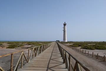 Faro de Morro Jable, lighthouse in Morro Jable, Fuerteventura