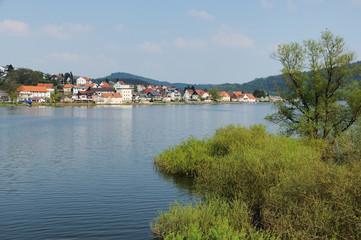 Edersee in Herzhausen bei Vollstau