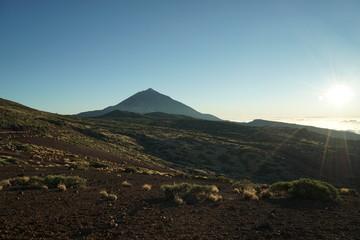 Spanien, Teneriffa, Teide, Berg, Sonnenuntergang