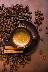 caffè espresso aromatizzato