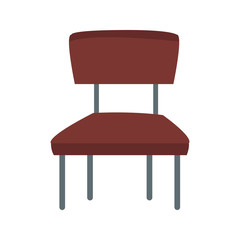 wooden chair seat vector illustration graphic design