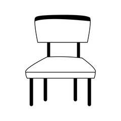 wooden chair seat vector illustration graphic design vector illustration graphic design