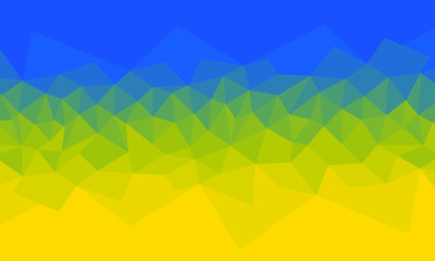 diamond blue-yellow abstract background