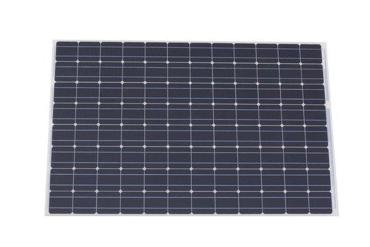 Solarzelle freisteller - Photovoltaik Panel auf weissem Hintergrund