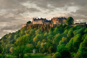 Stirling Castle Summer Sunset