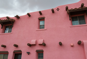 Pink Adobe, New Mexico