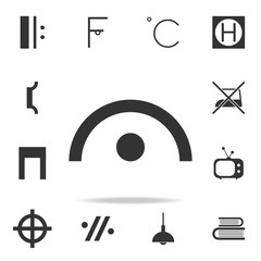music note icon. Detailed set of web icons and signs. Premium graphic design. One of the collection icons for websites, web design, mobile app
