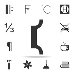 music note iconicon. Detailed set of web icons and signs. Premium graphic design. One of the collection icons for websites, web design, mobile app