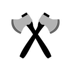 Axe icon.  Illustration