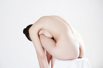 nude beautiful sensual woman