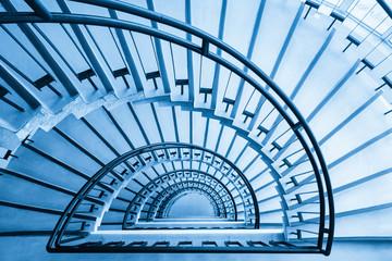 spiral staircase closeup