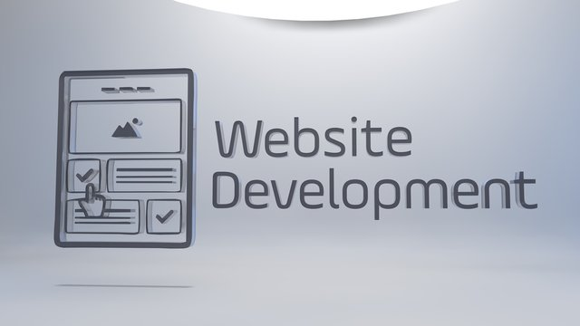 Website Development and webpage icon