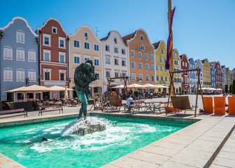 Brunnen am Stadtplatz von Schärding