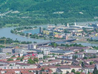 Blick auf die Donau in Linz