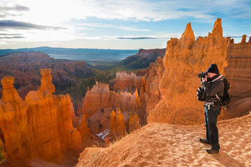 photographing Bryce Canyon National Park