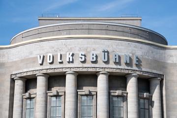 Volksbühne Berlin am Rosa-Luxemburg-Platz, Berlin Mitte, Deutschland