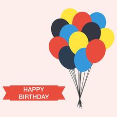 happy birthday vector greeting