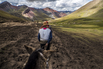 Horse Riding to Rainbow Mountain Peru and back