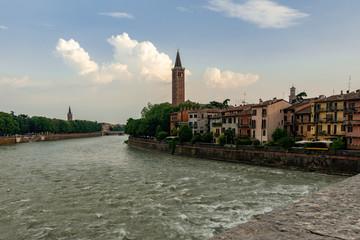 Verona von der Ponte San Pietro