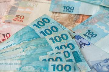 Brazilian money / reais.
