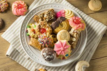 Homemade Sweet Assorted Italian Cookies