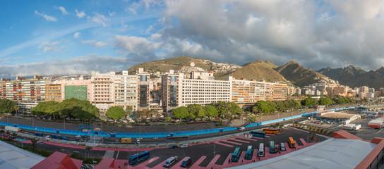 Spanien Kanaren Teneriffa Santa Cruz Panorama