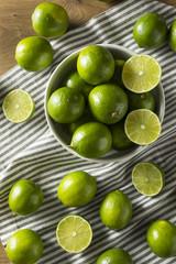 Raw Green Organic Citrus Limes