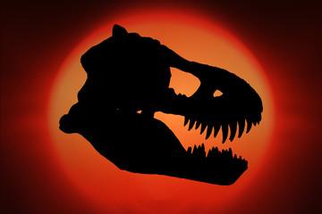 T-Rex Sihouette