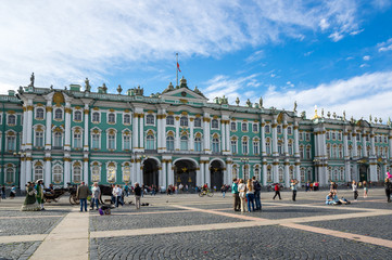 The Winter Palace in Saint-Petersburg