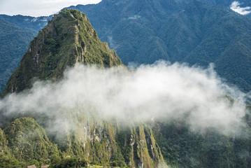 The road to Machu Picchu and beautiful landscapes