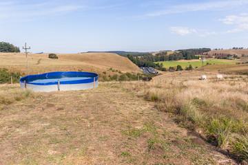 Farming  Highway Landscape