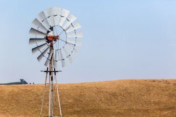 Farming Windmill Rural Landscape