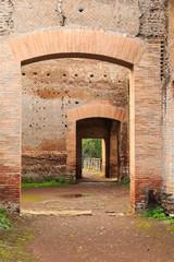 Italy, Central Italy, Lazio, Tivoli. Hadrian's Villa. UNESCO world heritage site.