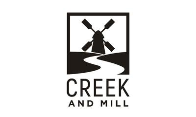 Creek and Mill logo design inspiration