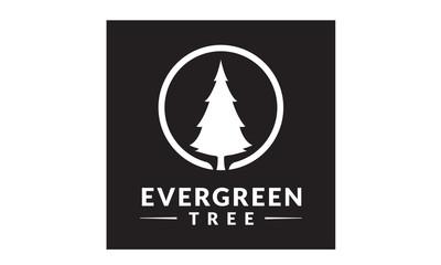 Evergreen / Pine tree Logo design inspiration