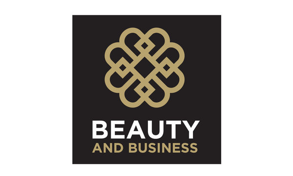 Elegant Luxury Pattern Motif Initials BB logo design inspiration