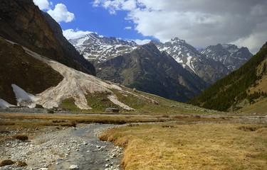 Caucasus in spring