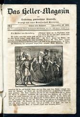 The faithful wives of Weinsberg (from Das Heller-Magazin, December 27, 1834)